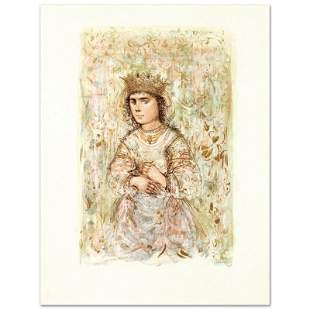 """""""Zorina"""" Limited Edition Lithograph by Edna Hibel"""