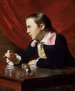 John Singleton Copley - A Boy with a Flying Squirrel