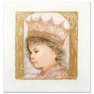"""""""Celia"""" Limited Edition Lithograph by Edna Hibel"""