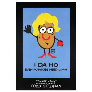 """I-DA-HO"" Collectible Lithograph (24"" x 36"") by"