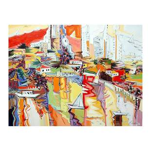 "Natalie Rozenbaum, ""Marina Reflections"" Limited Edition"