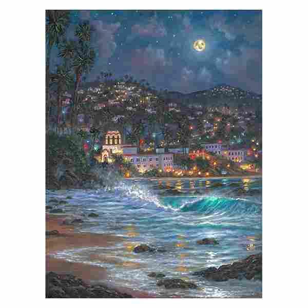 "Robert Finale, ""Starry Night Laguna"" Hand Signed,"