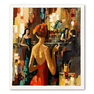 """Nelly Panto, """"Red Dress"""" Hand Signed Limited Edition"""
