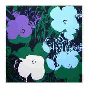 "Andy Warhol ""Flowers 11.64"" Silk Screen Print from"