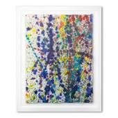 Wyland Speckled Sky 12 Framed Original Watercolor