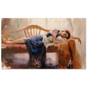 """Pino (1939-2010), """"At Rest"""" Artist Embellished Limited"""