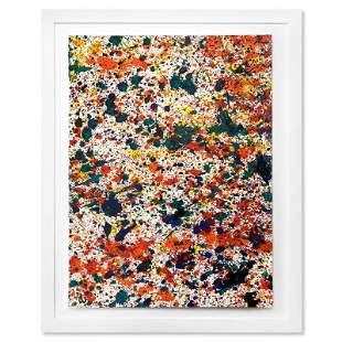 "Wyland, ""Splash 124"" Framed Original Watercolor"