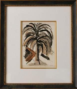 Original Palm Tree by Arthur Secunda