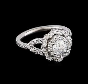 1.25 ctw Diamond Ring - 14KT White Gold