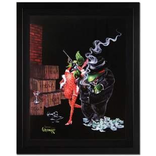 "Michael Godard, ""Ollie Capone"" Framed Limited Edition"