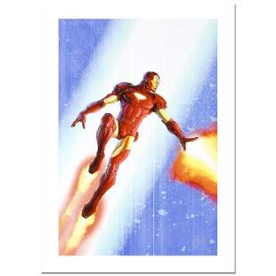 """Stan Lee Signed, """"Iron Man & The Armor Wars #3"""""""