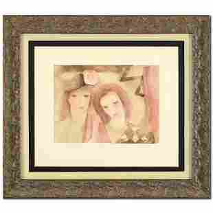 "Marie Laurencin (1883-1956), ""Two Women"" Framed"
