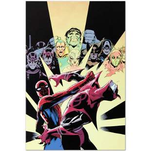 "Marvel Comics ""Last Hero Standing #3"" Numbered Limited"