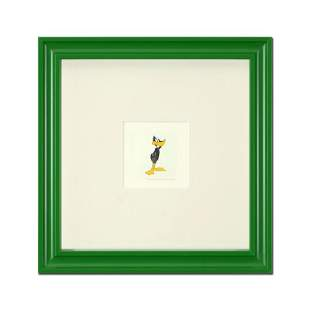 """""""Daffy Duck (Looking to the Side)"""" Framed Limited"""