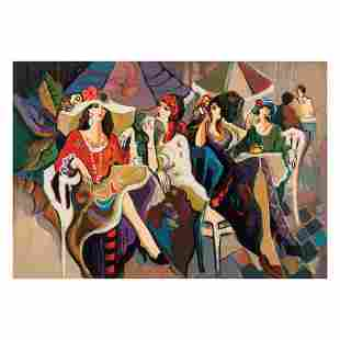 "Isaac Maimon, ""Cafe Parasol"" Limited Edition Serigraph,"
