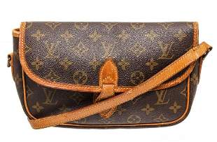 Louis Vuitton Brown Monogram Gibciere PM Shoulder Bag