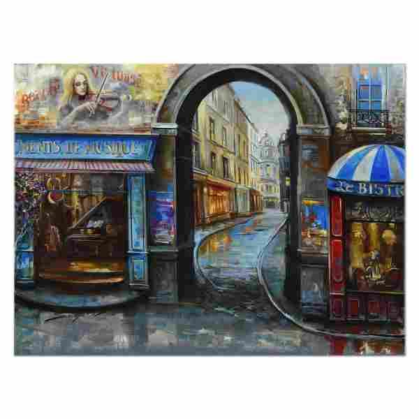 Vadik Suljakov, Original Oil Painting on Canvas, Hand