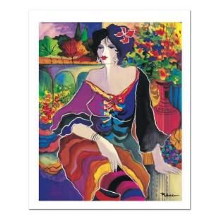 "Patricia Govezensky, ""Flower Shop"" Hand Signed Limited"