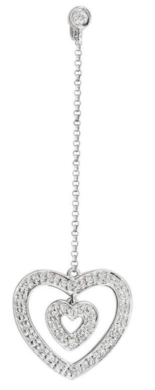 14k White Gold 0.18CTW Diamond Pendant, (I1 /I)