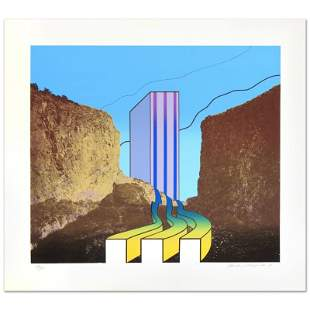 """Great American Canyon"" Limited Edition Lithograph by"