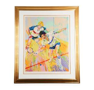 """""""Racquetball"""" by LeRoy Neiman - Limited Edition"""