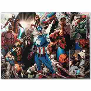 """Marvel Comics """"Earthfall #2"""" Numbered Limited Edition"""