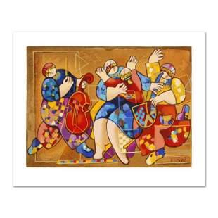 "Dorit Levi, ""Salsa Fun"" Limited Edition Serigraph,"