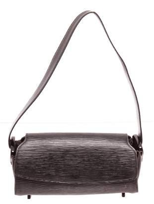 Louis Vuitton Black Epi Leather Nocturne PM Shoulder