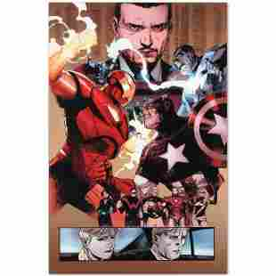 """Marvel Comics """"New Avengers #48"""" Numbered Limited"""