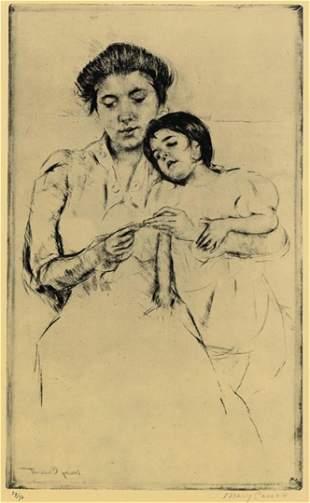 Mary Cassatt - Handkerchief