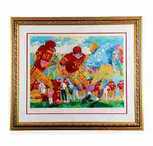 """""""USC vs. UCLA"""" by LeRoy Neiman - Limited Edition"""