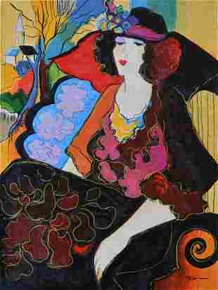 Patricia Govezensky Elizabeth Canvas
