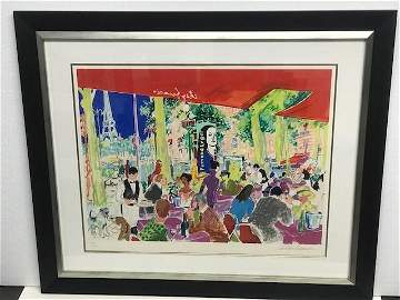 Chez Francis Restaurant Europe by LeRoy Neiman