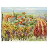 Harvest in Tuscany by Suljakov Original