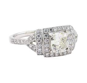 1.51 ctw Diamond Ring - Platinum
