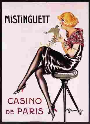 Charles Gesmar - Mistinguett Casino Paris