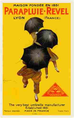 Leonetto Cappiello - Parapluie-Revel