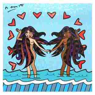 Gemini Girls (Black) by Britto, Romero