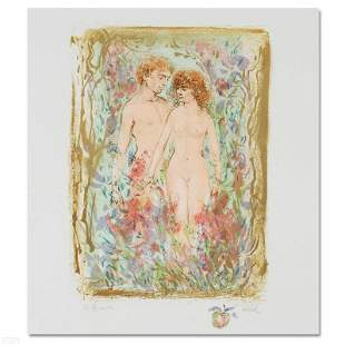 The First Couple by Hibel (1917-2014)