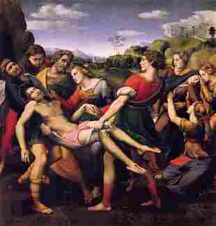 Raphael - Entombment of Christ