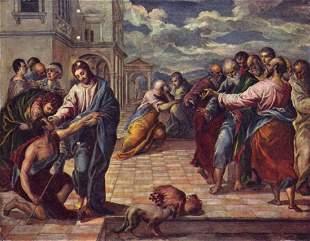 El Greco - Christ Healing a Blind Man [2]