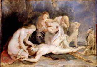 Sir Peter Paul Rubens - Venus Mourning Adonis