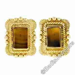 Scott Gauthier 18kt Yellow Gold Rectangular Banded
