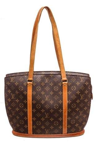 Louis Vuitton Brown Monogram Babylone Tote Bag