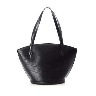 Louis Vuitton Black Monogram St. Jacques Shopping Tote