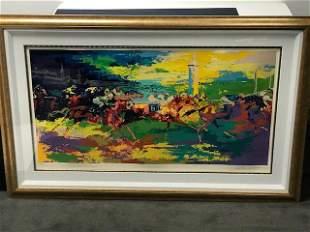 Kentucky Derby by LeRoy Neiman (1921-2012)