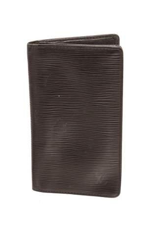Louis Vuitton Black Epi Leather Long Card Wallet