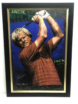 """""""Jack Nicklaus"""" by Stephen Holland"""