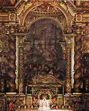 Luisa Ignacia Rold�n - Burying of Christ