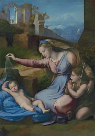 Raphael Gianfrancesco Penni - Madonna with the Blue
